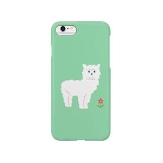アルパカ Smartphone cases
