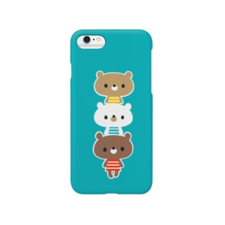 3くま Smartphone cases