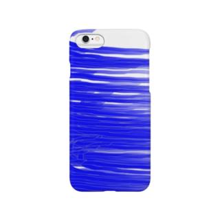 海の波 さし色 グッズ Smartphone cases