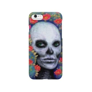 スカルペイントフェイス Smartphone cases