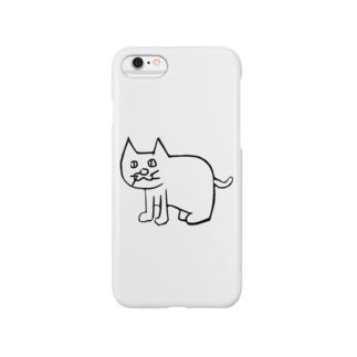 左向きの動物 Smartphone cases
