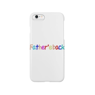 Father's back スマートフォンケース