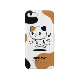 にゃんこMAX(三毛猫) Smartphone cases