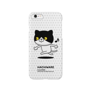 にゃんこMAX(ハチワレ) Smartphone cases