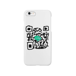 LINE QR(偽) Smartphone cases