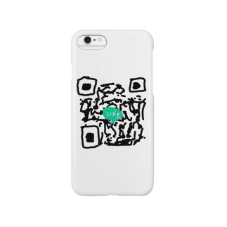 Alber0126のLINE QR(偽) Smartphone cases