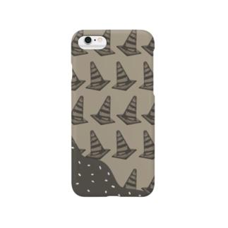 甘そうな三角コーン Smartphone cases
