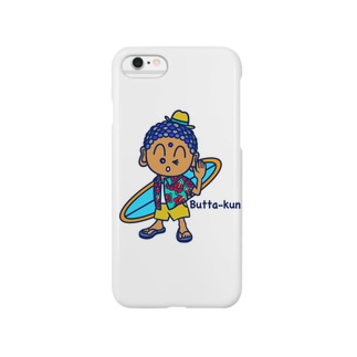 beach style Butta-kun Smartphone cases
