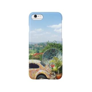ルワンダの青 Smartphone cases
