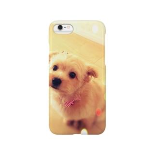キラキラポメプーのココ Smartphone cases