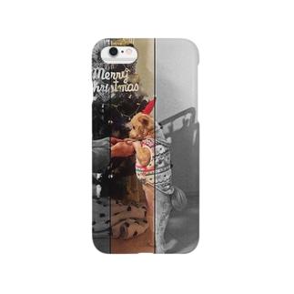 クリスマスポメプーのココ Smartphone cases