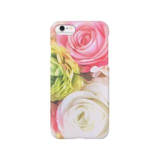 pastel flowers Smartphone cases