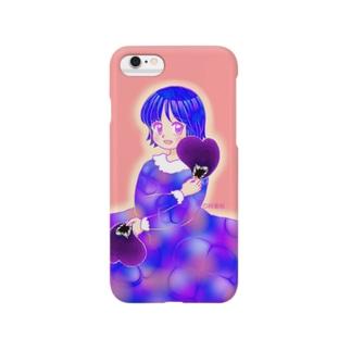 パンジーっ子 Smartphone cases