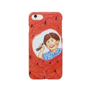 赤い西瓜 Smartphone cases