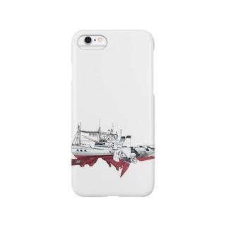 無灯火の魚生丸 Smartphone cases