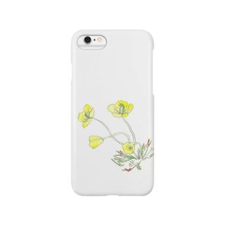 アラスカの花 スマートフォンケース