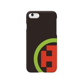 伊庭八郎家紋 Smartphone cases