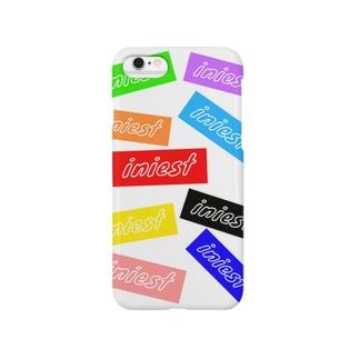 iniestアイフョンケース(カラフル) Smartphone cases