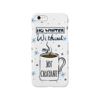 No Winter Without My Hot Chocolate Smartphone cases