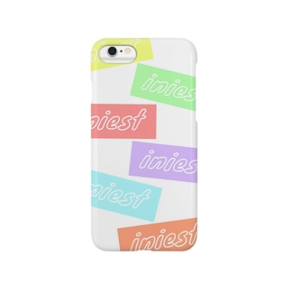iniestアイフョンケース(パステル) Smartphone cases