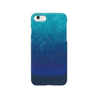 星が瞬く間に Smartphone cases