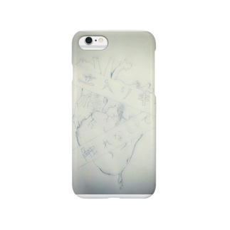 Lifeline(白) Smartphone cases