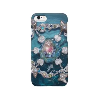 Sea and Land(テキスト無)全面 Smartphone cases