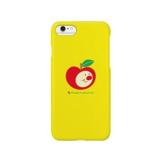 りんごちゃん(イエローNo.1) Smartphone cases