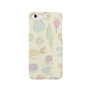 ゴチャ柄 Smartphone cases