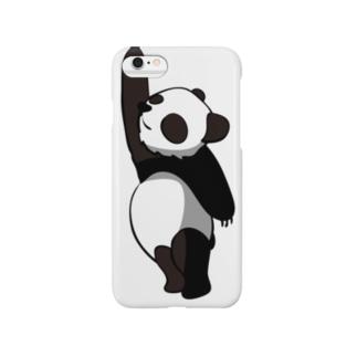 おもしろパンダさん Smartphone cases