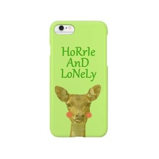 Cutie Deer (シカ) Smartphone cases
