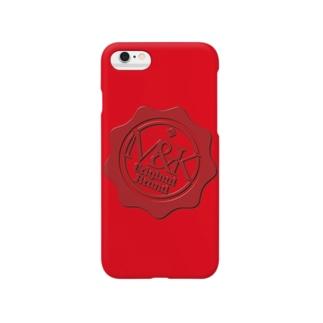 M-king.(シーリングワックス風) Smartphone cases