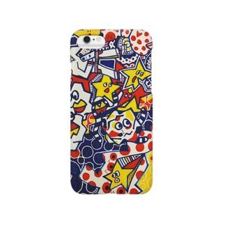 ゆーふぉーに集まれ Smartphone cases