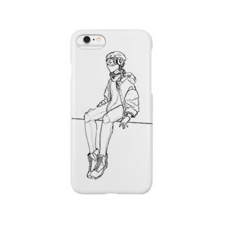 メカ少女 Smartphone cases