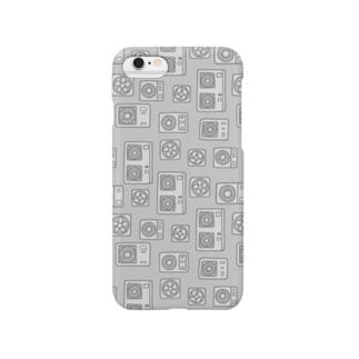 室外機と換気扇(グレー) Smartphone cases