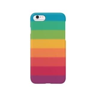 レインボーベルト Smartphone cases