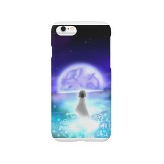 月の魔法 Smartphone cases