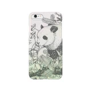 Pandaリズム スマートフォンケース