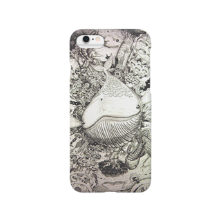 こがんちShopの森クジラ~お迎え~ Smartphone cases