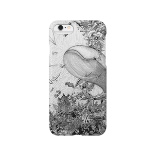 こがんちShopの森くじら~回遊~ Smartphone cases