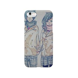 冬カップル Smartphone cases