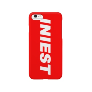 WAIフョンケース(INIEST×RED) Smartphone cases