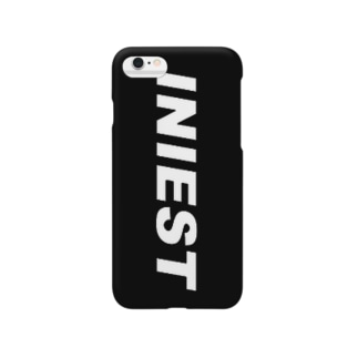 WAIフョンケース(INIEST×BLACK) Smartphone cases