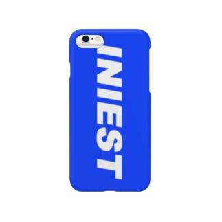 WAIフョンケース(INIEST×BLUE) Smartphone cases