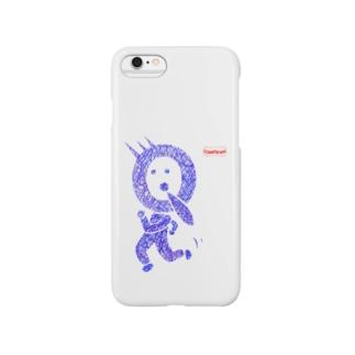 QfaceTシャツ Smartphone cases