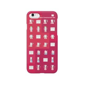 鉄骨嬢 Smartphone cases