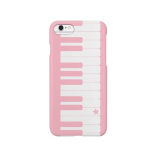 ピアノの鍵盤 Smartphone cases