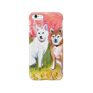 ジュジュとラン Smartphone cases