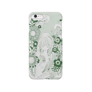 お花と少女 Smartphone cases