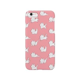 ゲシャアピンク Smartphone cases